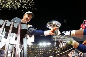 during Super Bowl 50 at Levi's Stadium on February 7, 2016 in Santa Clara, California.